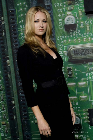 Sarah Walker is a CIA agent who has shown to be able to do anything. She is also willing to role-play. Unfortunately, unless you are also CIA, she is inaccessible. Also comes from a background of scam artists. Not her real name either.